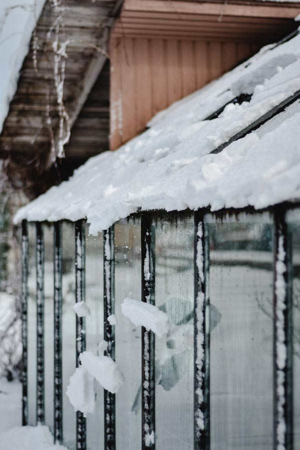 Greenhouse in the winter from Pexel