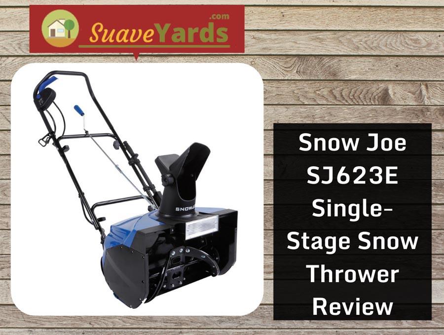 Snow Joe SJ623E Electric Single-Stage Snow Thrower header
