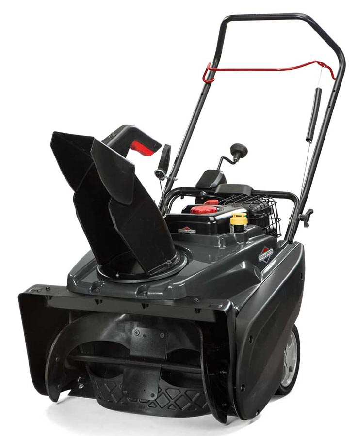 Briggs and Stratton Single Stage Snow Blower (2)