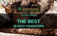 Best 18 inch chainsaw header