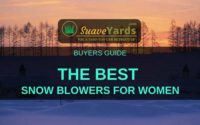 Best snow blowers for women
