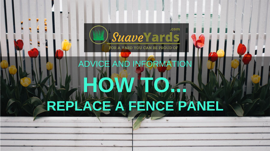 How to replace a fence panel header image