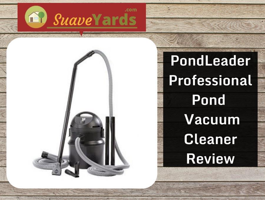 Pondleader Professional Pond and Muck Vacuum header