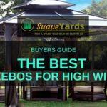 The Best Gazebos for high winds header