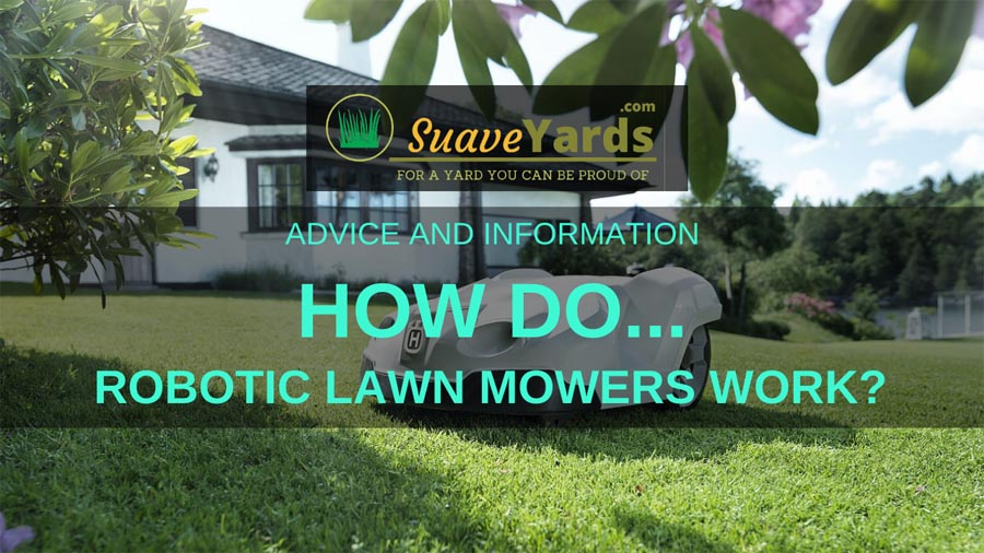 How do robotic lawn mowers work header