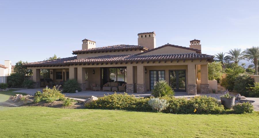Posh house with nice lawn