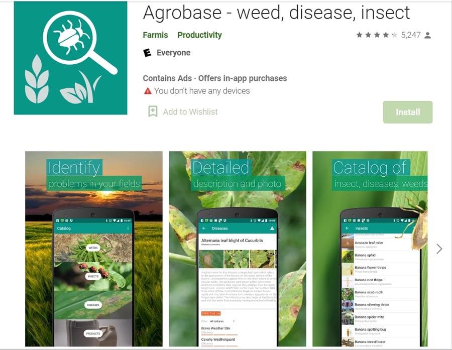 Agrobase app