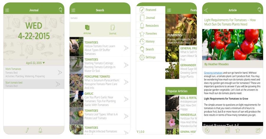 Gardening Companion apps