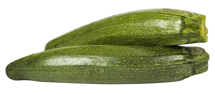 Close-up of a zucchini