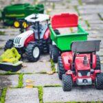 Toys on ground