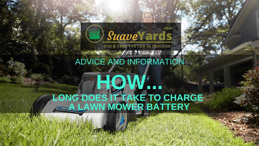 How long does it take to charge a lawn mower battery header image
