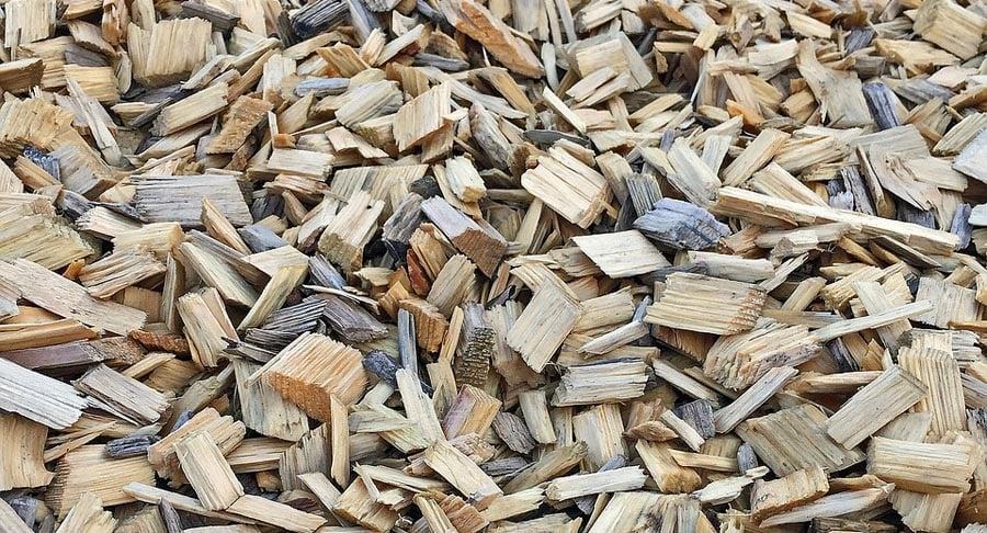 mulch close up