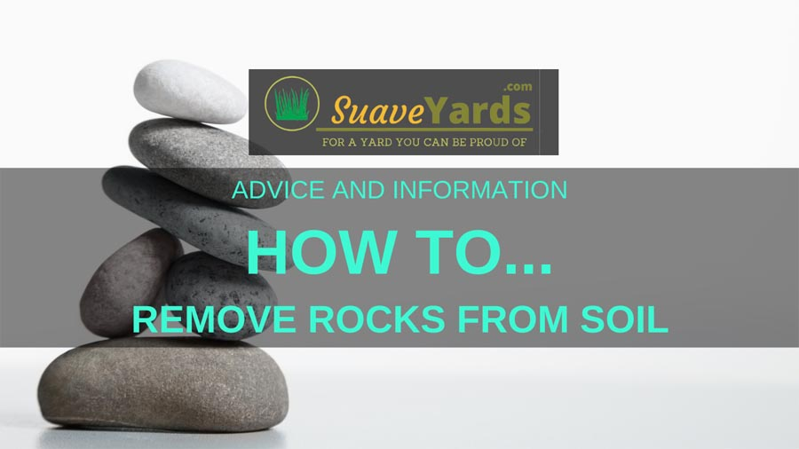How to remove rocks from soil